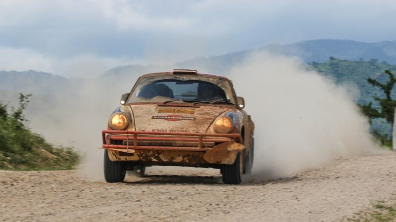 Austrias Kris Rosenberger Lead in Tanzania Safari Classic Rally