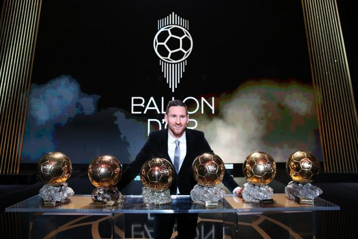 Lionel Messi and Megan Rapinoe Feted at 2019 Ballon d'Or