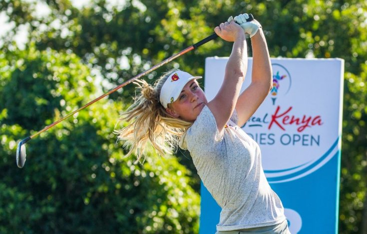 England's Liz Young Sets Pace at The Magical Kenya Ladies Open