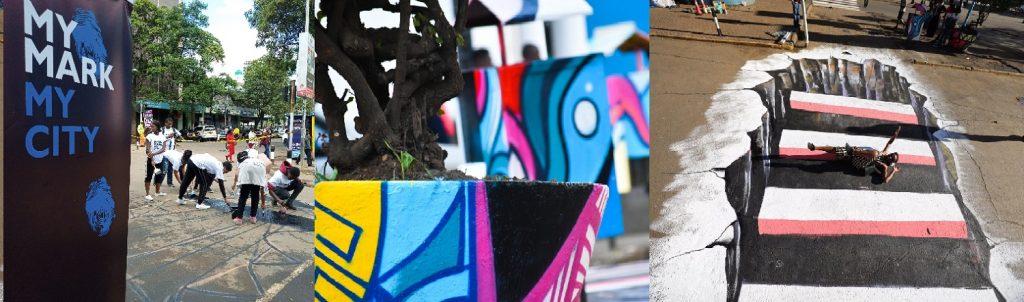 Graffiti Artists Re-imagine Nairobi City Public Spaces Through Art