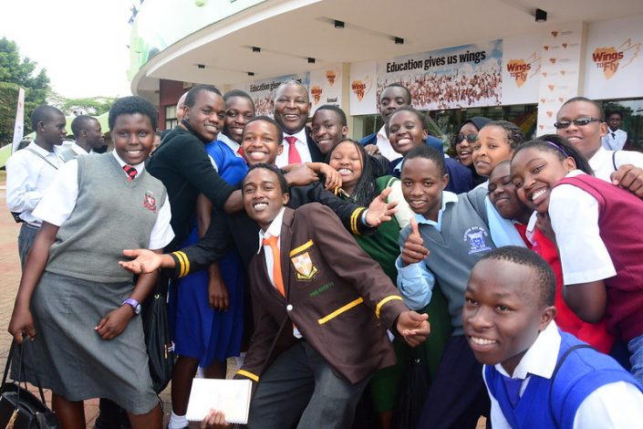 Wings to Fly Education Students