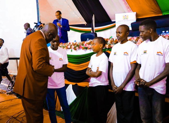 Wanjala, who sat his exams at Murang'a High School scored an A plain of 87.33 points to emerge the top student out of the 747,161 candidates who registered and sat for the 2020 exams.