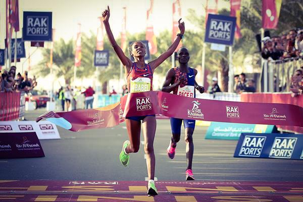Yeshaneh Beats Kenya's Brigid Kosgei