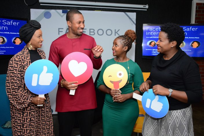 Facebook in partnership with Watoto Watch Network work together for a Safer Internet