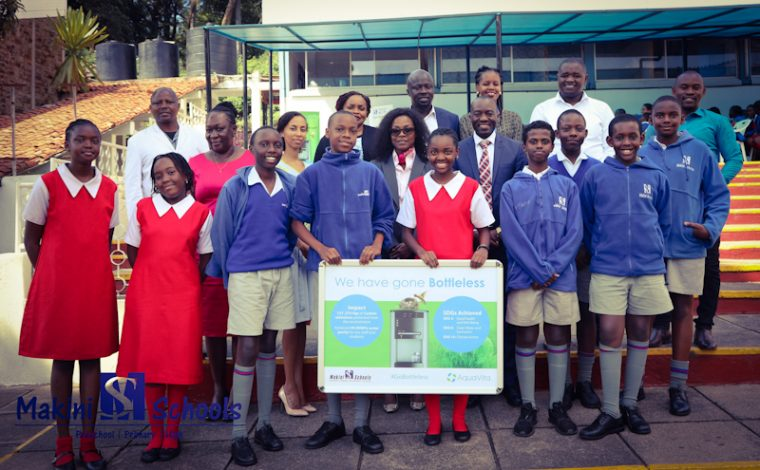 Makini Group of Schools Fights Pollution With Bottle-less Water Dispensers