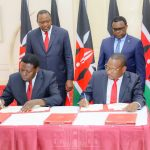 Nairobi County Surrendered to the National Government
