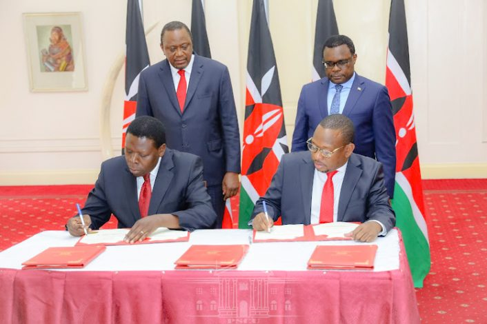 Functions of the Nairobi County Government have been handed over to the National Government pursuant to Article 187 of the Constitution.