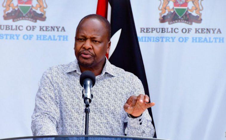 Kenya's Health Cabinet Secretary