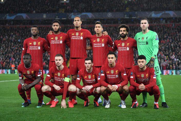 Liverpool Team Photo