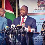 Coronavirus: Nairobi, Mombasa, Kilifi and Kwale are High Risk Counties