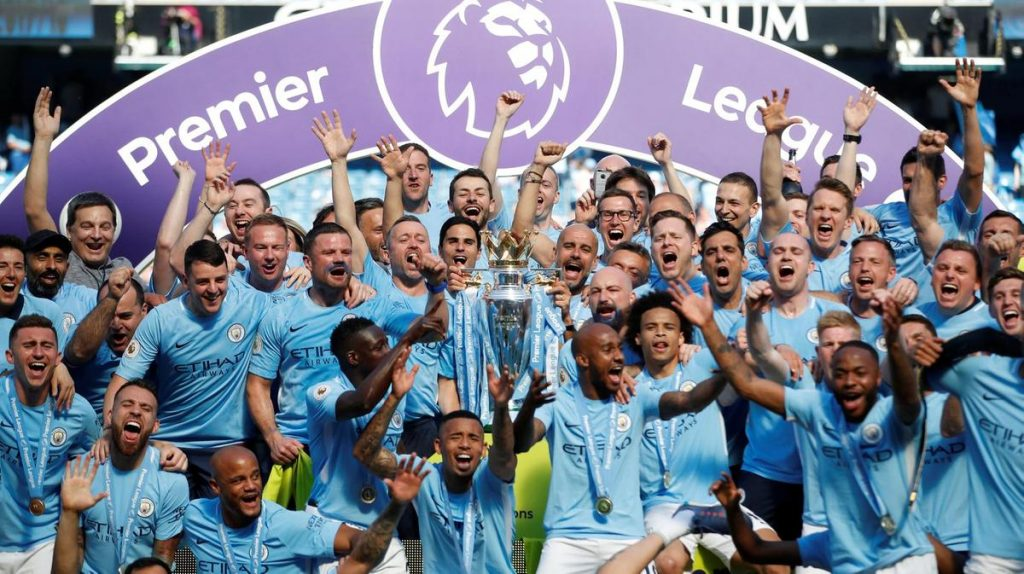 Manchester City won the Premier League 2018/19