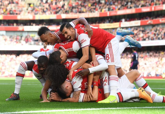 Arsenal lifted the FA Cup back in 2017