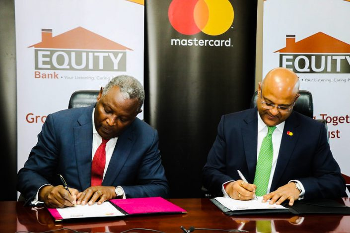 The signing of a Customer Business Agreement between Equity & Mastercard .August 4, 2020