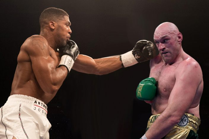 AJ has thrown a challenge to Fury for a fight