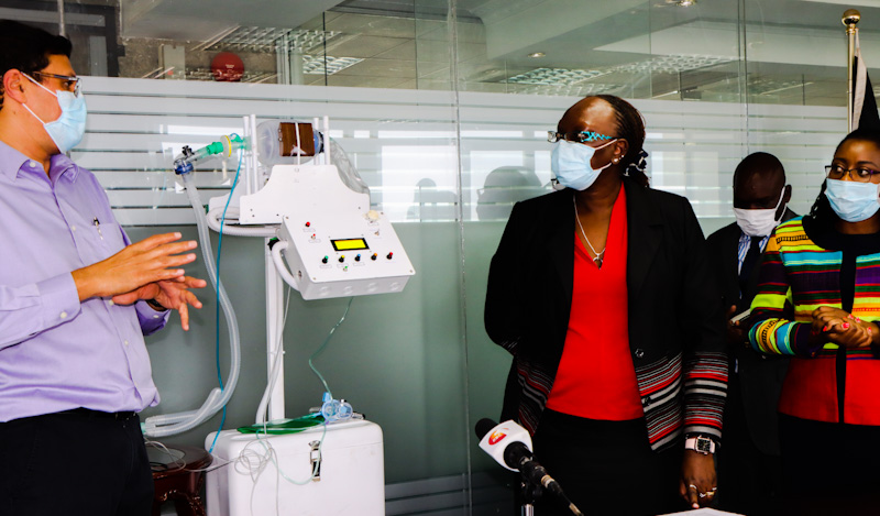 Prototype Ventilator for Covid Patients
