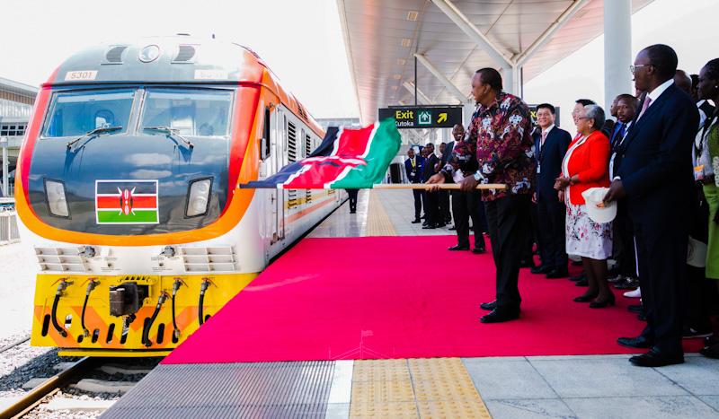 Standard Gauge Railway Nairobi Terminus