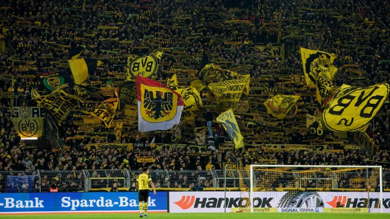 The Yellow Wall of Dortmund