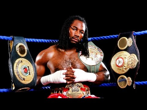 Former Unified Heavyweight Champion