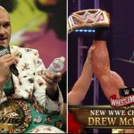 Tyson Fury accepts Drew McIntyre's Challenge