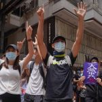 Hong Kong Police fire tear gas at protesters of China's security law plan
