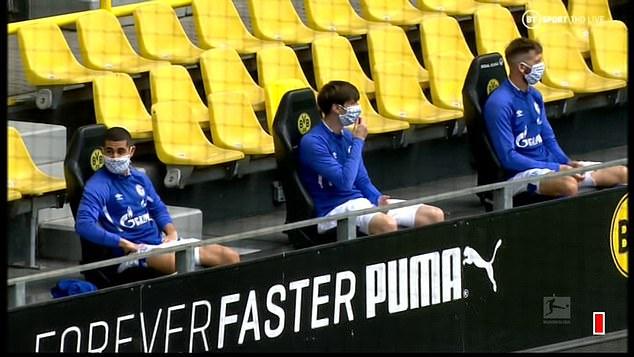 Social distancing in Football