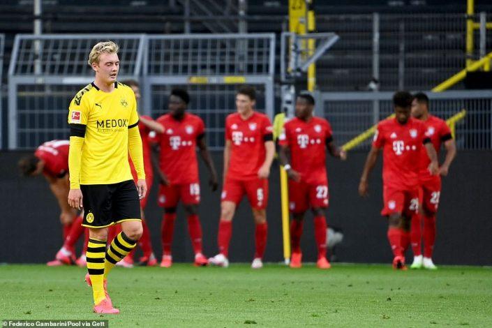 Borussia Dortmund 0 – 1 Bayern Munich