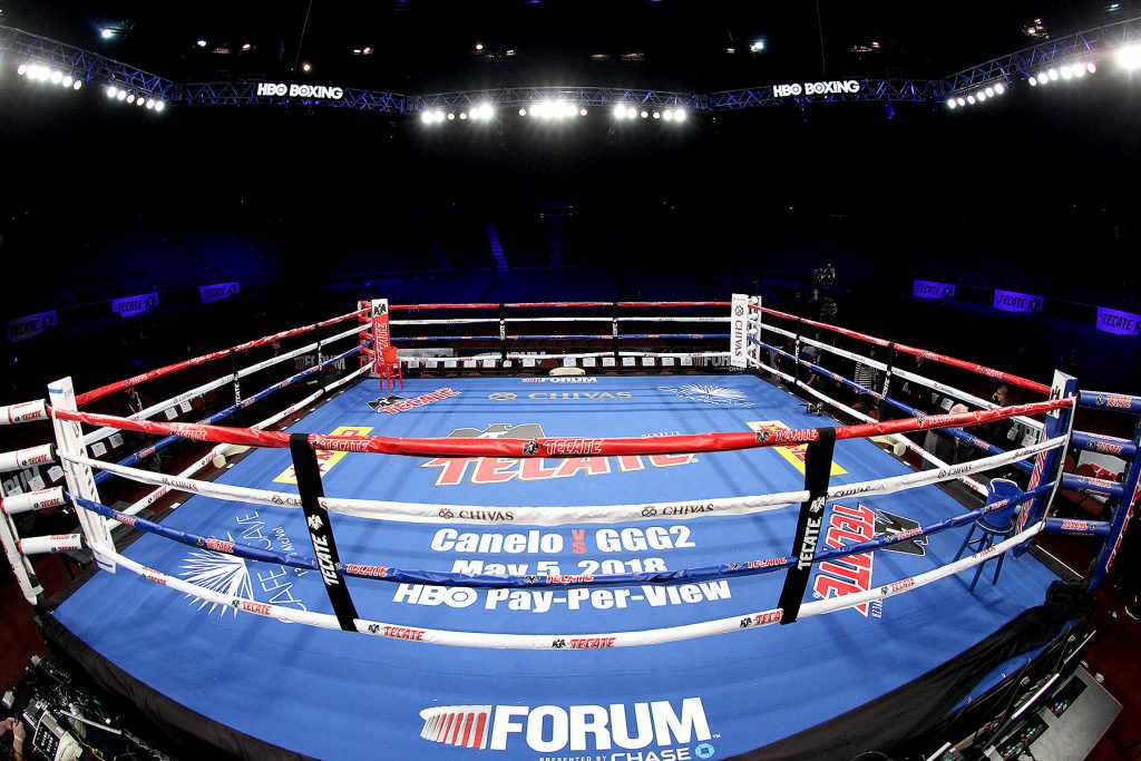 Boxing could get go ahead next week to resume hosting fights behind closed doors.