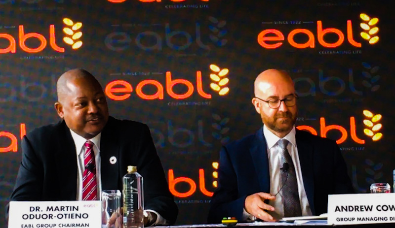 EABL Unveils Two-year KSh0.5b Fund Programme for Eateries, Bars Post Covid-19