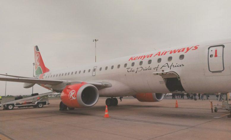President Uhuru Kenyatta and his Congolese host Felix Tshisekedi on Thursday oversaw the signing of a partnership agreement between Kenya Airways (KQ) and Congo Airways on Thursday.