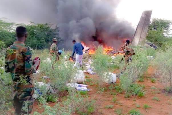 Kenyan Plane Shot Down in Somalia Killing Six People