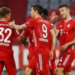 Football: Bayern Munich 2-1 Eintracht Frankfurt
