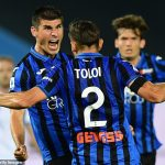 Serie A: Atalanta comes back from two goals down to beat Lazio