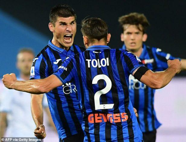 Atalanta beat Lazio