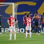 La Liga: Barcelona edge Athletic Bilbao to go back top of the Table