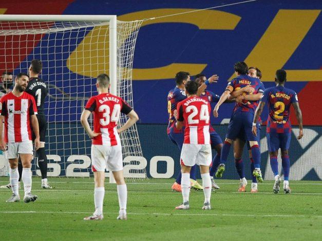 Barcelona 1 - Bilbao 0