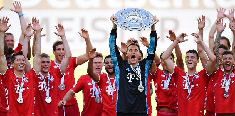Bayern Munich win title