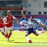 Arsenal suffer double tragedy courtesy of Brighton's Maupay