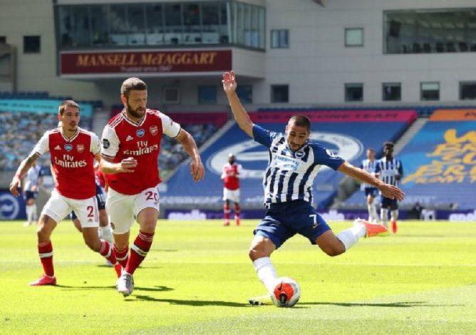 Brighton beat Arsenal