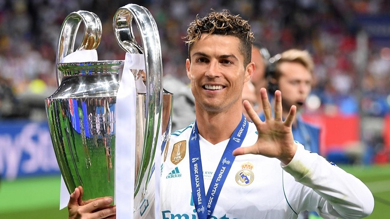 Ronaldo wins UCL with Real Madrid