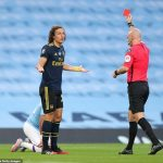 Luiz sees RED as Arsenal get humbled by Manchester City