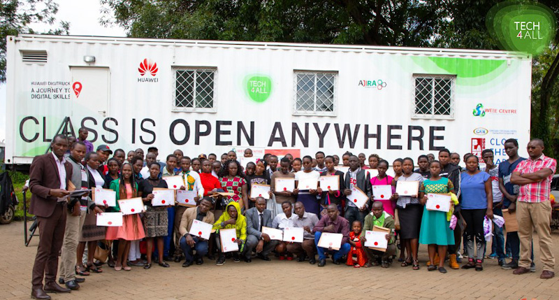 DigiTruck: Huawei to Expand it's Digital Classroom in Five More Countries
