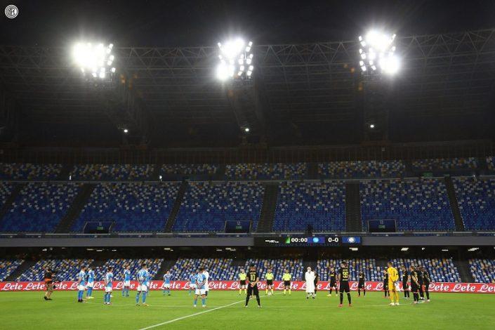 Napoli 1 Inter 1 2 1 Agg Napoli To Face Juventus In