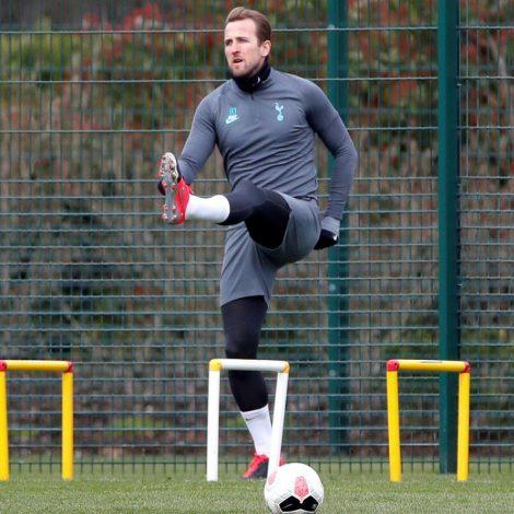 Tottenham and England Striker