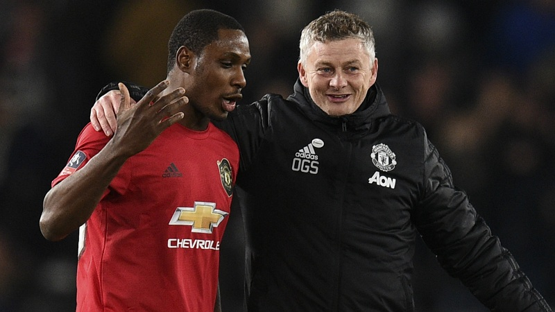 Nigerian and Manchester United Striker