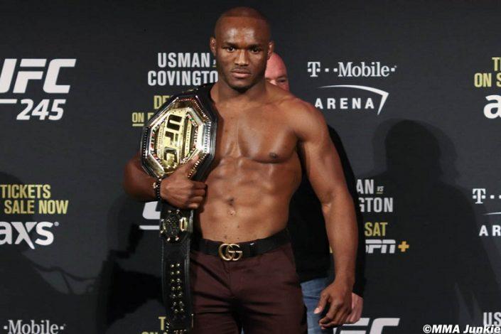 UFC Welterwight Champion