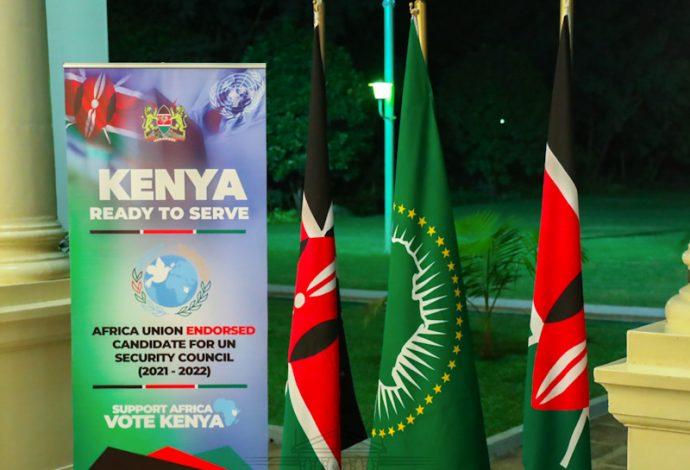 Kenya Elected UN Security Council Non-permanent Member Beginning 2021