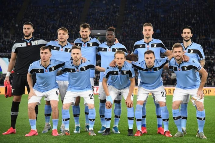 Lazio FC are chasing Juventus for the Serie A title