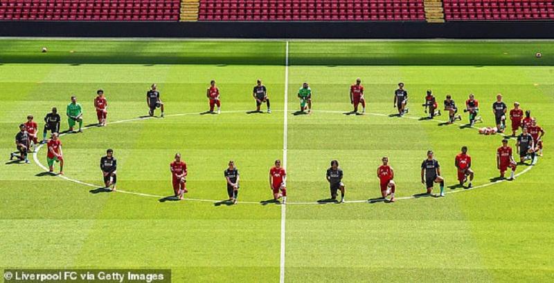Premier League take stance on BLM