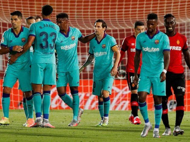 Mallorca 0 - Barcelona 4