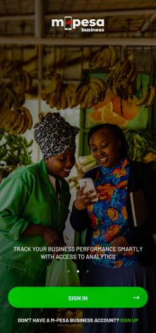 Safaricom Mpesa for Business App Allows SMEs to Track Performance Digitally